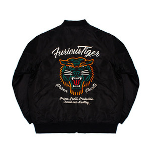 TIGER SOUVENIR_JACKET[PP17O0200302]_BLACK