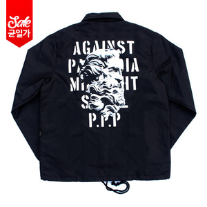 Against Coach Jacket _Black