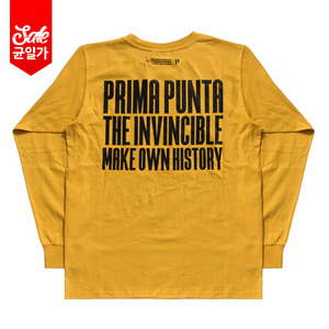 Invincible L/S T-shirt _Mustard