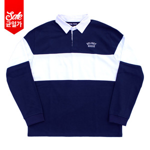 Delight Rugby L/S T-shirt Navy