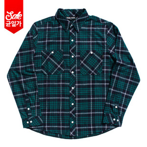 Flannel Shirt _Navy
