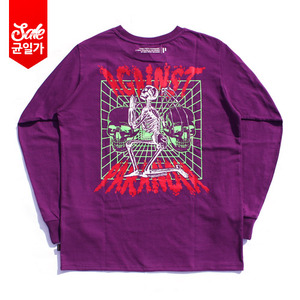 Praybone L/S T-shirt _Purple